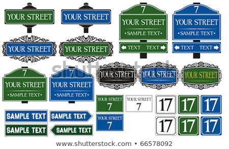 History Street Sign Stock photo © kbuntu