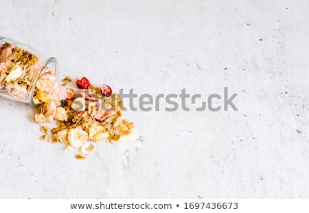Variation of Sweets and Cereals Stock photo © tepic