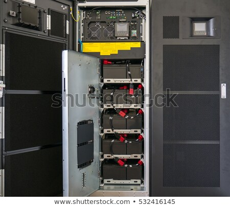 UPS (Uninterruptible Power Supply) stock photo © Vectorminator