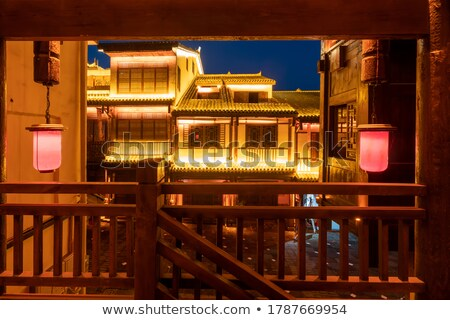 roofs of ancient buildings stock photo © bbbar