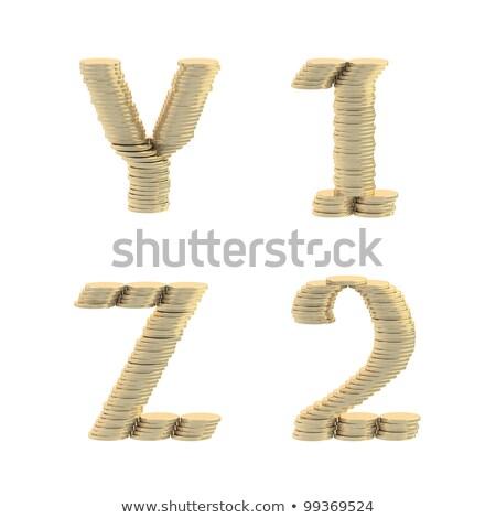 euros · pièces · argent · lettre · Finance - photo stock © erierika
