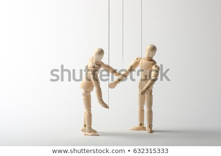 two wooden mannequins stock photo © creisinger