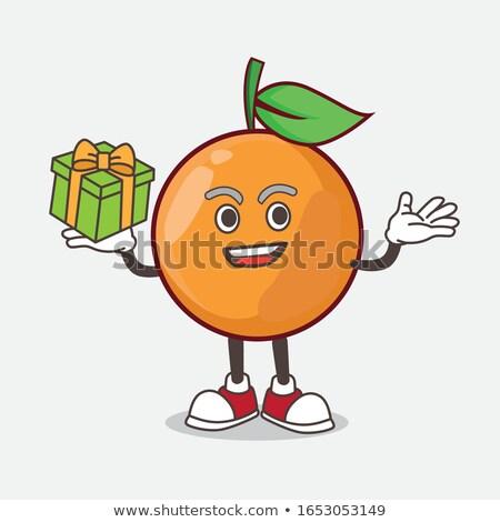 gyűjtemény · lédús · izolált · fehér · étel · narancs - stock fotó © inganielsen