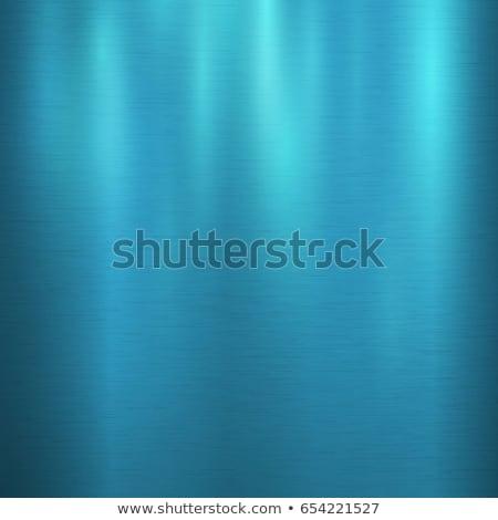 soğuk · mavi · madeni · doku · yansımalar - stok fotoğraf © Alvinge