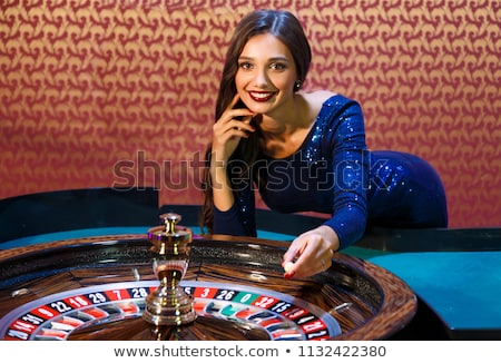 casino dealer Stock photo © tony4urban