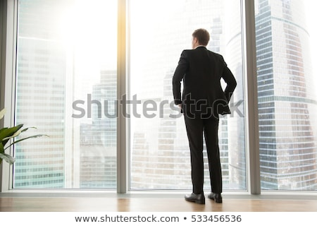 Full-length view of a company manager stock photo © stockyimages