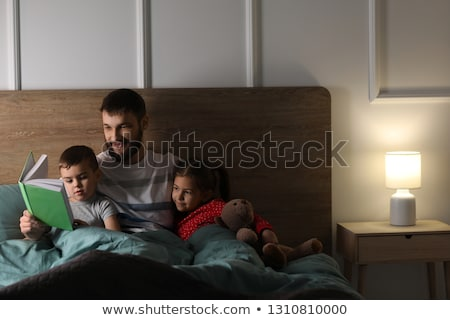 отец · чтение · история · дочь · семьи · девушки - Сток-фото © photography33