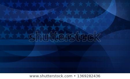 Amerikan vatansever gün dizayn çerçeve imzalamak Stok fotoğraf © AnnaVolkova