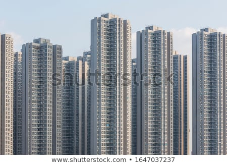 Hong Kong housing development Stock photo © kawing921