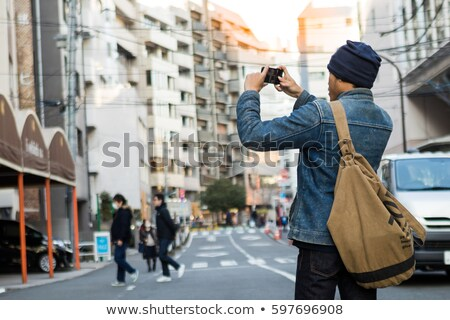 男 · スマートフォン · 写真 · 通り · 男性 - ストックフォト © adamr