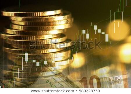altın · çubuklar · grafikler · istatistik · para · Metal - stok fotoğraf © brunoweltmann