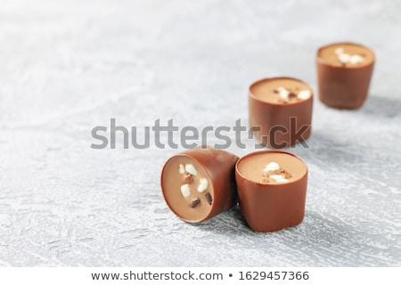 Foto stock: Chocolate Pralines