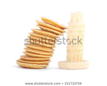 Toren pannenkoeken lang esdoorn Stockfoto © danielgilbey