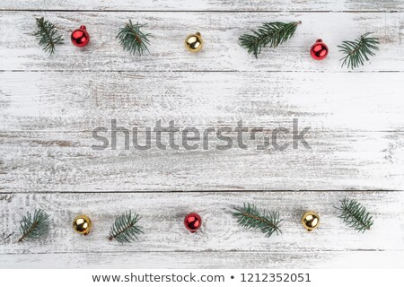 snowflake gold background with copy space for your text stock photo © taiga