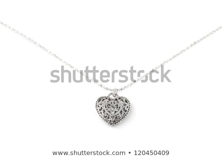 Lucky charm necklace, isolated on white Stock photo © gsermek