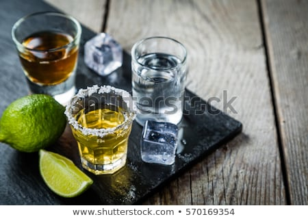álcool · bebidas · conjunto · frutas · festa · fruto - foto stock © janpietruszka