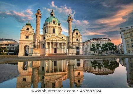 ウイーン · オーストリア · 午前 · 日の出 · 空 · 水 - ストックフォト © AndreyKr