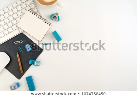 Blank Blue Office Note Stock photo © Lightsource
