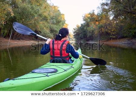 Kayak on the Shoreline Stock photo © Gordo25
