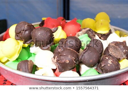 Colorful mixed fondant candies Stock photo © aladin66