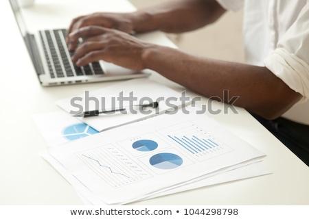 американский экономический развития бизнеса промышленности флаг Сток-фото © Lightsource