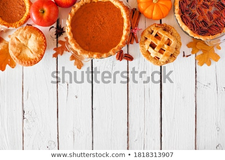 Apple Pie On Wooden Background Stock photo © mady70