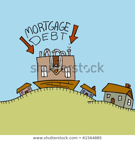 Upside Down Mortgage Debt Stock photo © cteconsulting