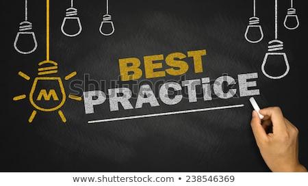 best practice business background stock photo © tashatuvango