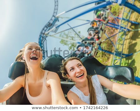rollercoaster Stock photo © RedDaxLuma