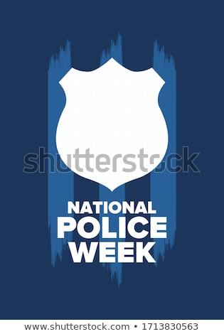 policji · człowiek · bezpieczeństwa · pistolet · prawa · broni - zdjęcia stock © wellphoto