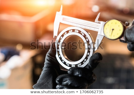 bola · metal · técnico · desenho · azul · construção - foto stock © aeyzrio