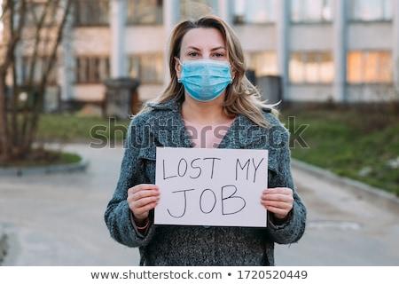 job loss sign stock photo © alexmillos