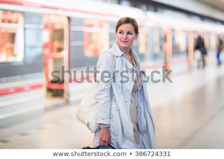 Elegante Smart viaggio metropolitana Foto d'archivio © lightpoet