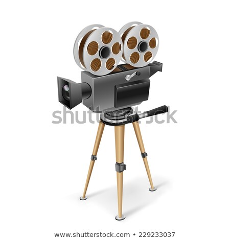 ретро фильма видеокамерой обрабатывать Сток-фото © Winner