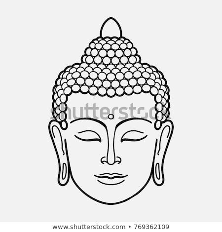 голову · Будду · статуя · корней · дерево - Сток-фото © joyr