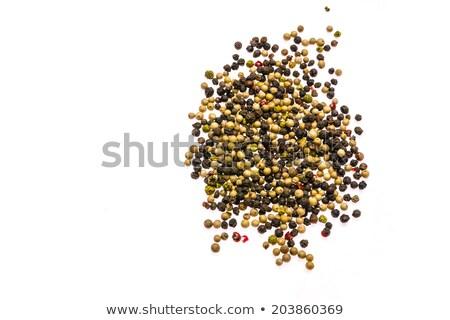 Négy évszak aszalt fából készült copy space étel szín Stock fotó © aladin66