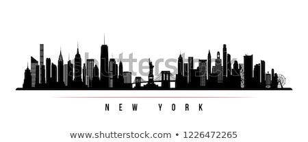 Manhattan NYC Skyline Panorama Stock photo © ArenaCreative
