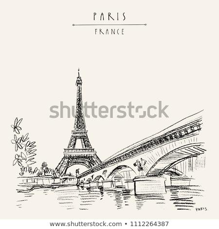 Foto stock: Francia · baguette · aislado · blanco · pan · trigo