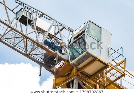 Building site with cranes Stock photo © cherezoff