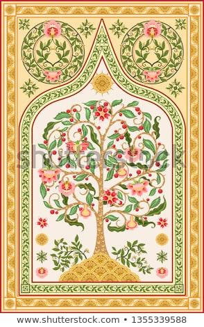 Albero vita soft colori cuore design Foto d'archivio © mcherevan