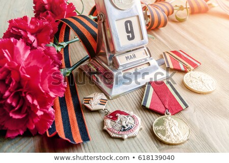 May 9 Victory Day. Calendar Stock photo © orensila