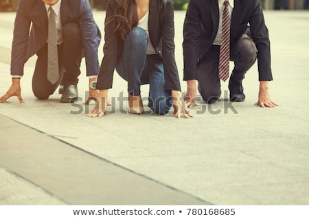 Businessman Competing Success Stock photo © Lightsource