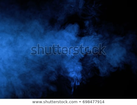 Blauw rook mist zwarte abstract licht Stockfoto © unweit
