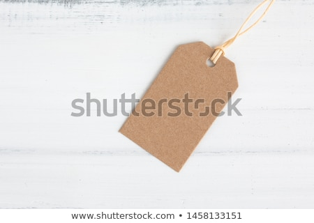 kahverengi · paket · etiket · ambalaj · kâğıdı · kaba - stok fotoğraf © stevanovicigor