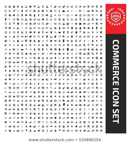 Barcode empreintes technologie contact communication Photo stock © fuzzbones0