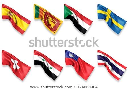 Switzerland and Sri Lanka Flags Stock photo © Istanbul2009