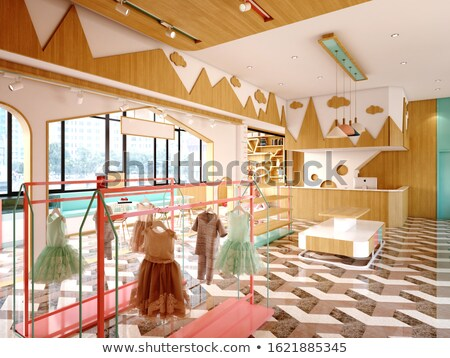 Photo stock: Magasin · intérieur · gomme · design · pierre · café