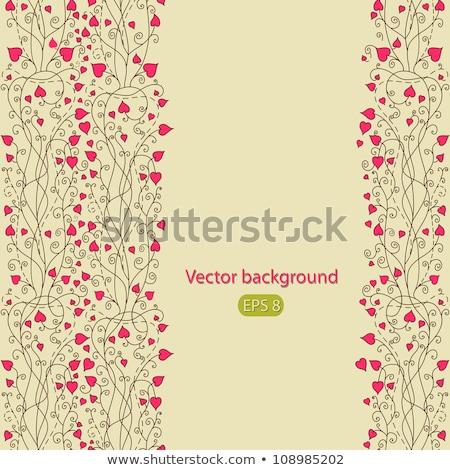 abstract · vintage · hart · eps · vector · bestand - stockfoto © beholdereye