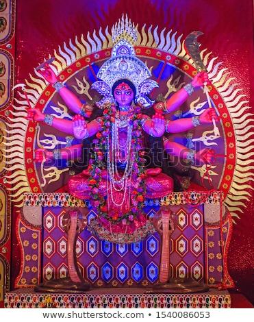 Tanrıça diwali örnek kadın eller komik Stok fotoğraf © adrenalina