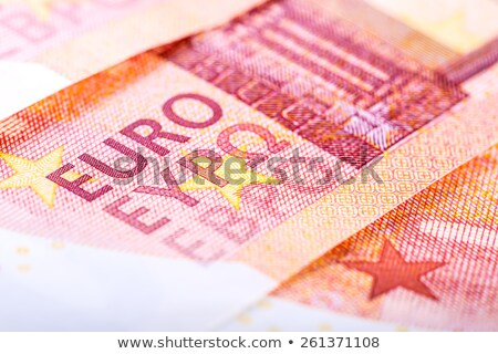 新しい 10 ユーロ クローズアップ 孤立した ストックフォト © michaklootwijk